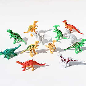 12pcs Dinosaurs Animal Action Figures Set Modeling Toys 4867850