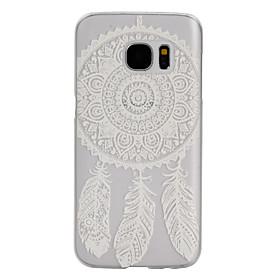 modello Dreamcatcher satinato cassa del telefono PC trasparente per Samsung Galaxy S5 \/ S7 \/ S4 mini \/ mini s5 \/ S6 bordo \/ bordo S7 \/ s7