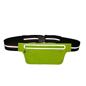 Waist Bag / Waistpack Belt Pouch / Belt Bag for Camping / Hiking Cycling / Bike Traveling Sports Bag Wearable Running Bag iPhone 5C Iphone 5/5S iPhone 8/7/6S/6