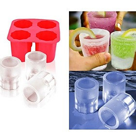 Cup Mold Ice  DIY Pops Mould Popsicle Molds Yogurt Ice Box Fridge Frozen Treats Freezer(Ramdon Color) 4814157