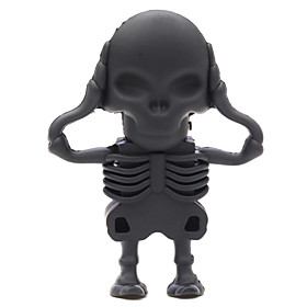 ZPK46 64GB Black Skeleton Zombie USB 2.0 Flash Memory Drive U Stick 4611