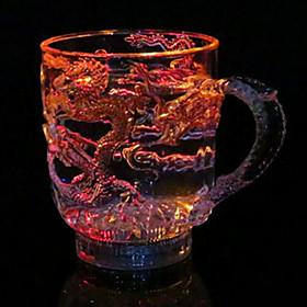 Novel Glass / Cup / Glass / Tea Drink 1PCS Plastic, Colorful 4821507