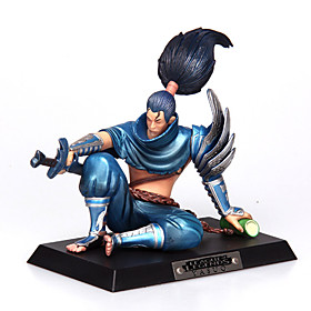 League of Legends Yasuo PVC The Unforgiven12CM Anime Action Figures Doll Toys Model 4827248