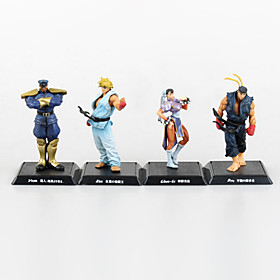 Street Fighter Anime Action Figure 11CM Model Toy Doll Toy(4 Pcs) 4932487