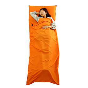 Camping Sleeping Bag Liner Envelope / Rectangular Bag 20-25°C Keep Warm Waterproof Dust Proof 210 Fishing Hiking Camping Traveling 4890736