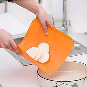 Ultra-thin Antimicrobial Resistant Flexible Cutting Board Suspensibility Soft Classification Chopping Block