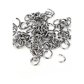 vilam10 pcs liga de zinco 8mm ganchos muito rígidos usados para conectar jóias 4908608