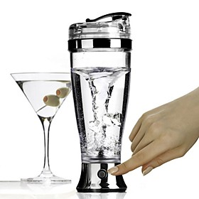 Automatic Cocktail Shaker Coffee Stirring Mixing Cup Electric 450ML Party Blender 4893586