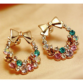 Women's Crystal Earrings - Rhinestone, Imitation Diamond Butterfly, Animal Fashion For Party Daily Casual