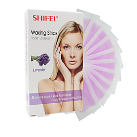 Hair Remove Wax Strips Lavender For Face Chin Eyebrow 4931057