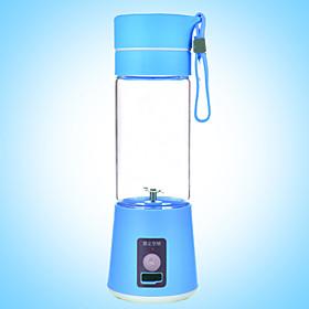 380ml Electric Portable USB Rechargeable Milk Shake Juice Blender Shaker Bottle 4899621