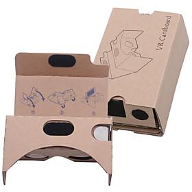 DIY pap virtual reality 3d glasses vr tookit (opgraderet version 37 mm-objektiv) 4894245
