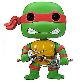 Ninja Turtles Raphael 10CM Anime Action Figures Model Toys Doll Toy 4922459