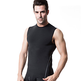 Running Compression Clothing Men's Sleeveless Quick Dry / Compression / Lightweight Materials / Soft Polyester / ElastaneYoga / Fitness / 4889746