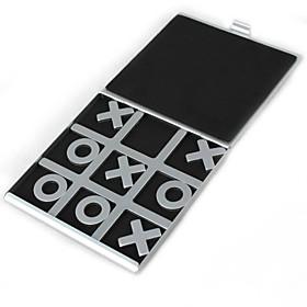 Travelling Tic Tac Toe Aluminium Board Games 4903316