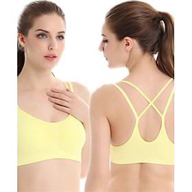 Sports Bra / Baselayer / Tank Top Women's Quick Dry / High Breathability (>15,001g) / Breathable for Yoga / Exercise  Fitness / Leisure 4942497