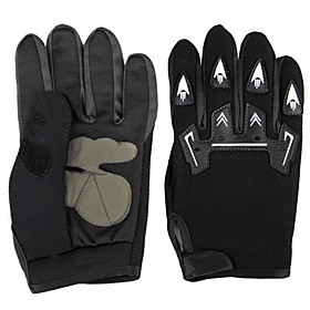 Pair Bicycle Bike Cycling Motorcycle Full Finger Gloves 4890616