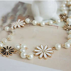 Women's Alloy Statement Necklace - Alloy Fashion Simple Style Necklace For 4900517