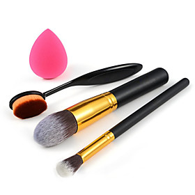 Makeup ToothbrushFoundation BrushEyeshadow BrushSmall Foundation Puff 4932554