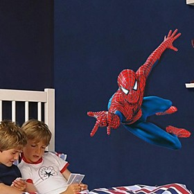 Wall Stickers Wall Decals, Cartoon Super Spider-Man Children Love PVC Wall Stickers 3702189
