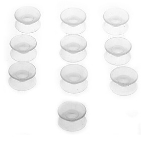 10PCS Silicone Double Sided Suction Cup for Aquarium Fish Tank Bathroom Glass 4930813