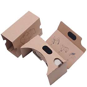 DIY  Cardboard Virtual Reality 3D Glasses VR Tookit(Upgraded version 34mm Lens) 4894247