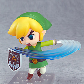 The Legend of Zelda Movable Link PVC 10CM Anime Action Figures Lovely Doll Toys Model 4900478