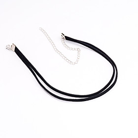Women's Choker Necklace / Tattoo Choker - Tattoo Style, European, Simple Style Black Necklace Jewelry For Party, Daily, Casual