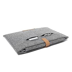 "Wool Felt Notebook Sleeve for MacBook Air 11.6"""" 13.3"""",MacBook Pro with Retina 13.3""""/15.4"""""" 4885980"