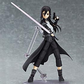 Anime Action Figures Inspired by Sword Art Online Kirito PVC 15 CM Model Toys Doll Toy 4926068
