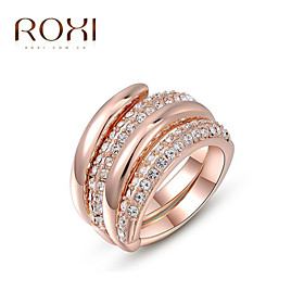 Women's Statement Ring - Alloy Fashion One Size Rose Gold For Wedding Office  Career