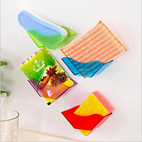 Useful Double Suction Cup Sink Shelf Soap Sponge Drain Rack Kitchen Sucker Storage Tool 4896657