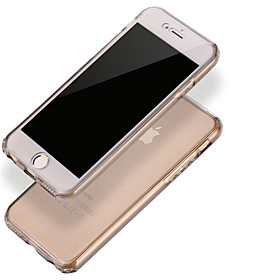 360 Degrees The Ultimate Protection Slim Unimpeded TPU Soft Phone Case for iPhone 6 6S Plus 4906350