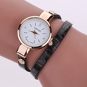 Women's Bracelet Watch PU With a Simple, Stylish Atmosphere With Fine Turns Of Watch(Assorted Colors) 4947328