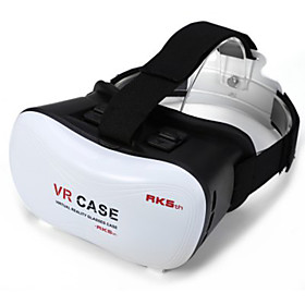 2016 VR BOX Google Cardboard 3D Movie VR Case Head Mount Plastic VR BOX Version Virtual Reality Glasses for Smart Phone 4885942
