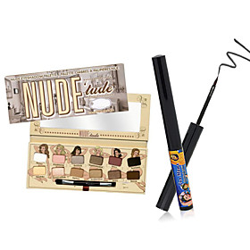 NUDE 'tude Eyeshadow Palette the balm  Schwing Matte Eyeliner 4876262