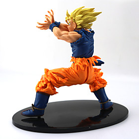 NEW Hot 18cm Dragon Ball Z Super Saiyan Son Goku Kakarotto PVC Action Figure Toys 4880448
