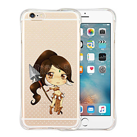 They Will Fear The Wild Soft Transparent Silicone Back Case for iPhone 6 Plus/6S Plus(Assorted Colors) sale off 2016