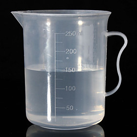 250ML Measuring Cup Jug Graduated Surface Cooking Bakery Kitchen 4884312