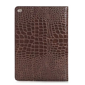 Fashion High Quality Slim Crocodile Leather Case For iPad Pro Smart Cover With Stand Alligator Pattern Case 4971106