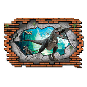 3D Wall Stickers Wall Decals Style Dinosaur PVC Wall Stickers 4991858