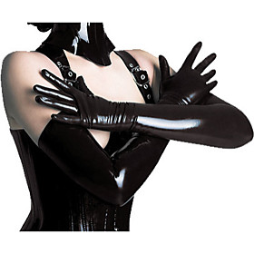 Woman's Hot Sell PVC Leather Gloves 4962611