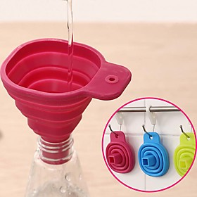 1pc Kitchen Tools Silicone Cute / Measure Measuring Tool / Funnel Cooking Utensils / Kitchen
