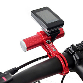 Bike Mount CNC Aluminum Alloy Bike Bicycle Handlebar Extender Extension Mount Holder for Stopwatch Flashlight 4972403