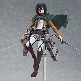 Attack on Titan Mikasa Ackermann PVC Anime Action Figures Model Toys Doll Toy 4811520