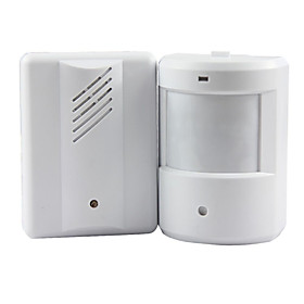 Door Bell Alarm Chime Doorbell Wireless Infrared Monitor Sensor Sensitive Detector Welcome Entry Music Bell 4990010