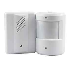 alarme sonnette carillon de sonnette capteur infrarouge sans fil moniteur détecteur sensible à l'entrée de bienvenue musique cloche 4990010