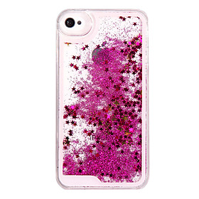 Case For iPhone 5 Apple iPhone X iPhone X iPhone 8 iPhone 5 Case Flowing Liquid Back Cover Glitter Shine Hard PC for iPhone X iPhone 8 2154417