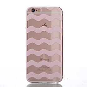 Per Custodia iPhone 6 \/ Custodia iPhone 6 Plus Other Custodia Custodia posteriore Custodia Con onde Morbido TPU AppleiPhone 6s Plus\/6