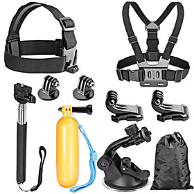 Accessory Kit For Gopro Waterproof For Action Camera All Action Camera Gopro 5 Xiaomi Camera Gopro 4 Silver Gopro 4 Gopro 4 Black Gopro 4 2671830